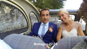 Une 2cv pour un mariage