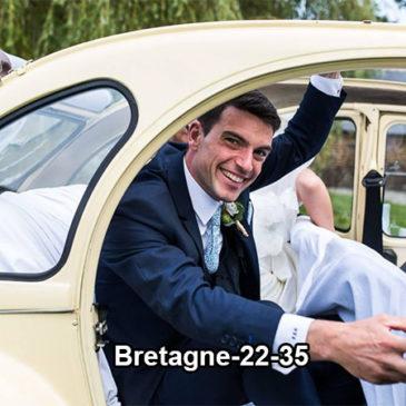 Offrez vous un mariage en véhicule ancien en Bretagne