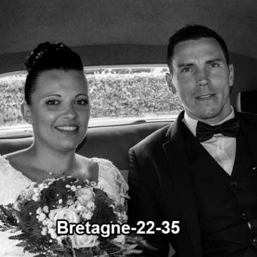 Voiture pour mariage dans les Côtes d' Armor