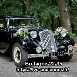 ventouse pour voiture de mariage